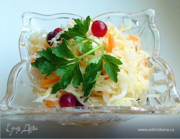 Квашеная капуста с клюквой – 7 рецептов