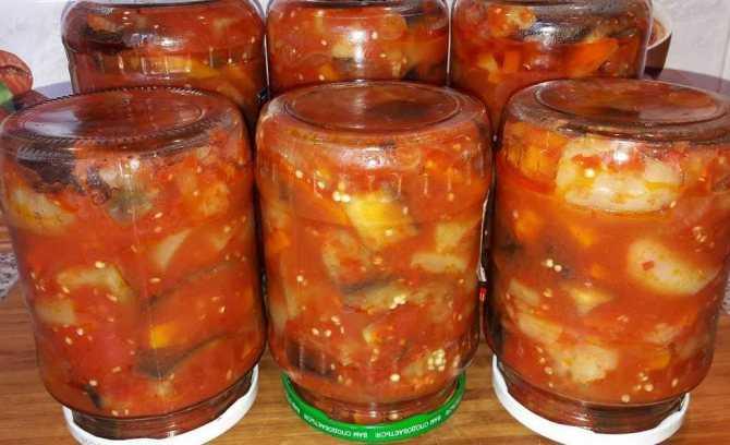 Жареные баклажаны на зиму - лучшие рецепты закуски как грибы, слоями с чесноком, помидорами и в аджике