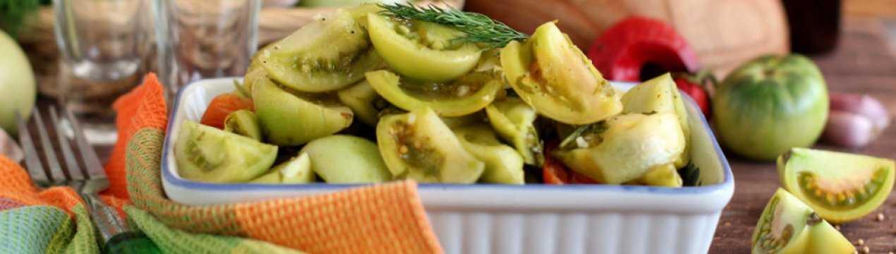 Квашенные зеленые помидоры на зиму – правила и рецепты готовки + видео