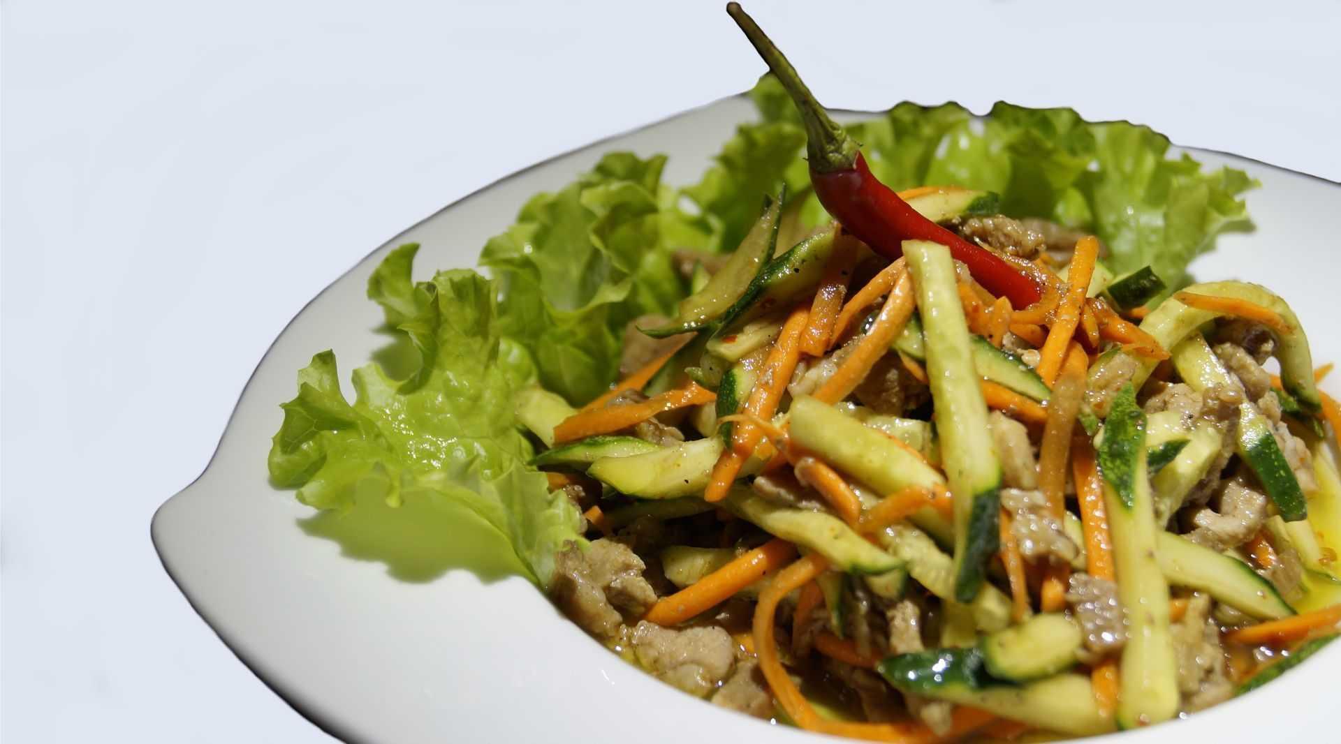 Классический салат «ташкент» от сталика ханкишиева