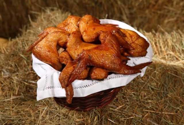 Копчение куриных крылышек холодное. рецепт: копченые куриные крылья - в домашней коптильне