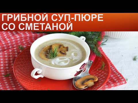 Крем-суп из шампиньонов со сливками — 5 простых и вкусных рецептов приготовления