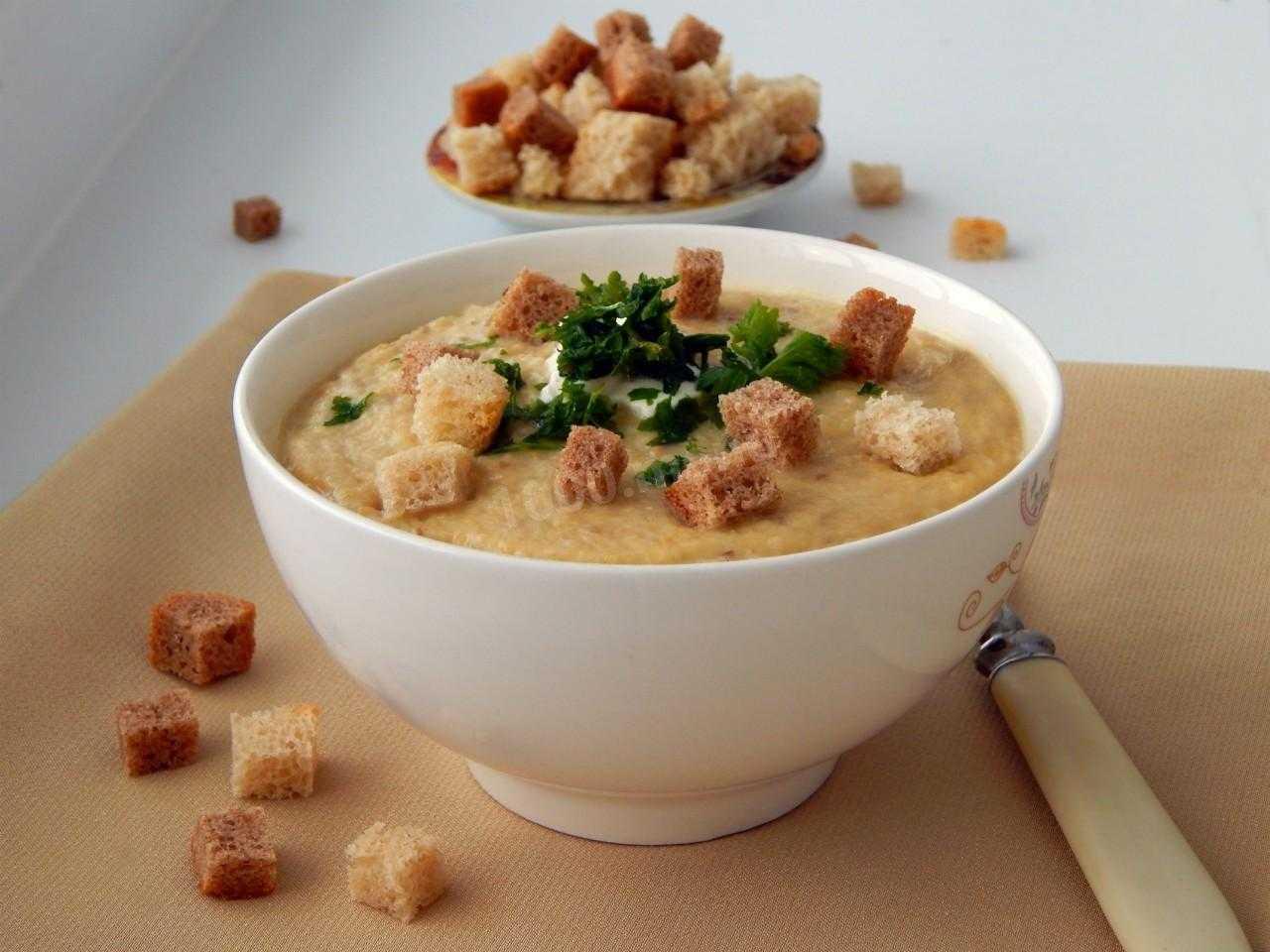 Грибной суп-пюре из шампиньонов в мультиварке - пошаговый рецепт с фото    первые блюда