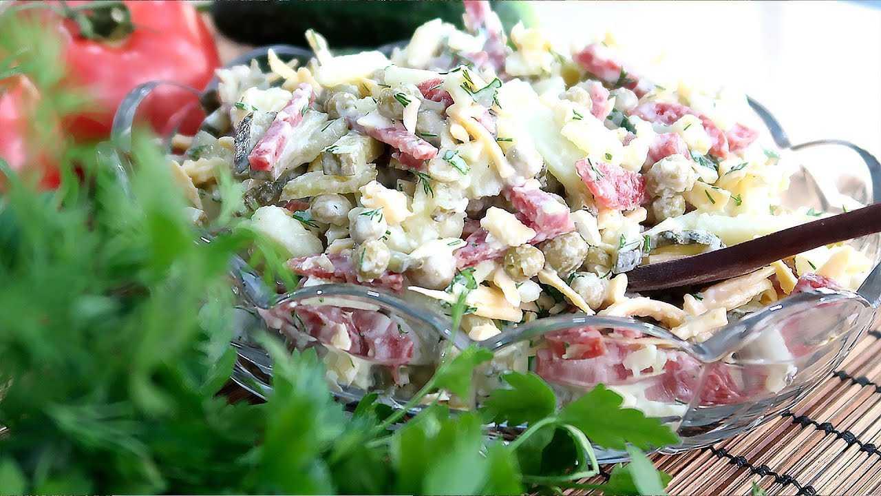 Как приготовить салат с сыром и охотничьими колбасками: поиск по ингредиентам, советы, отзывы, видео, подсчет калорий, изменение порций, похожие рецепты