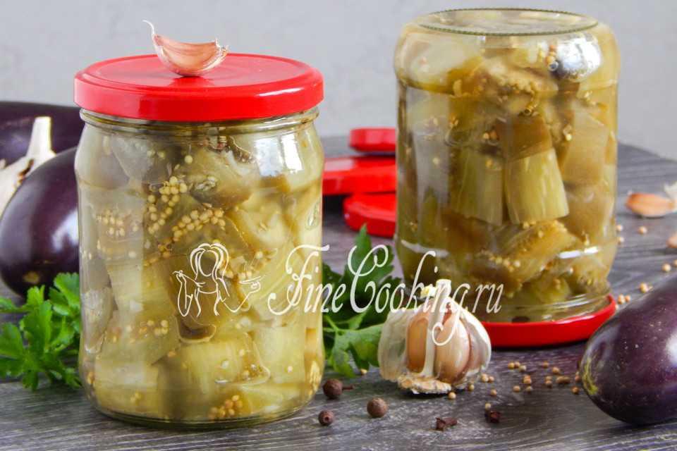 Баклажаны как грибы на зиму: топ 7 рецептов пальчики оближешь пошагово с фото