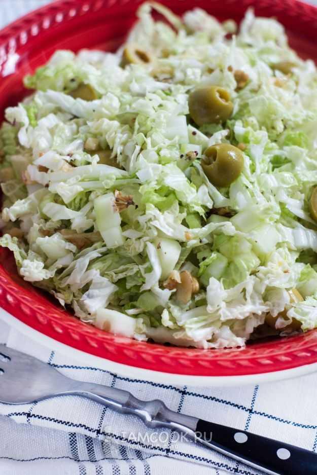 Салат из капусты и свеклы - готовить просто, а кушать вкусно: рецепт с фото и видео