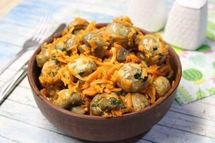 Шампиньоны по корейски в домашних условиях: рецепты приготовления грибов и маринада