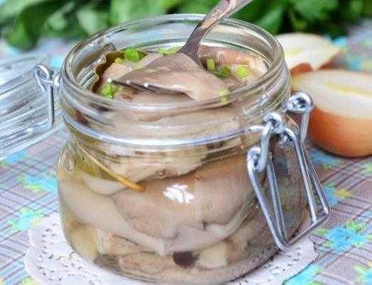Вешенки маринованные: рецепт быстрого приготовления закуски