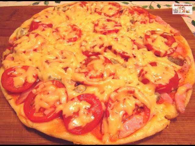 Пицца с шампиньонами: 4 рецепта, секреты приготовления (+отзывы)