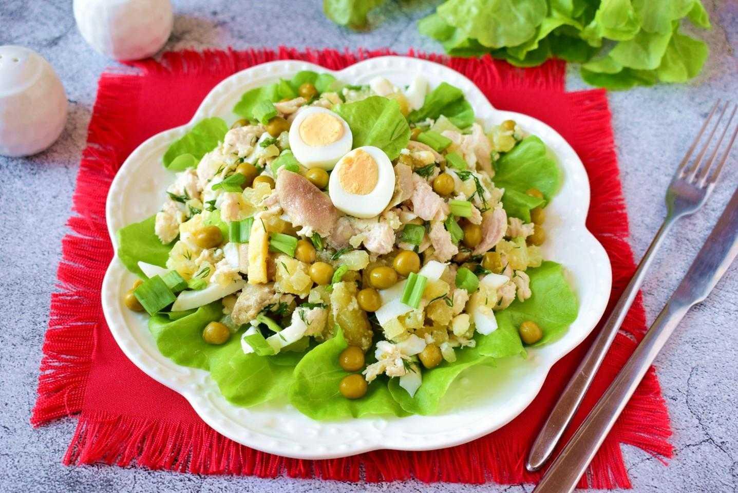 Слоеный салат с курицей. 13 пошаговых рецептов потрясающе вкусных салатов к празднику