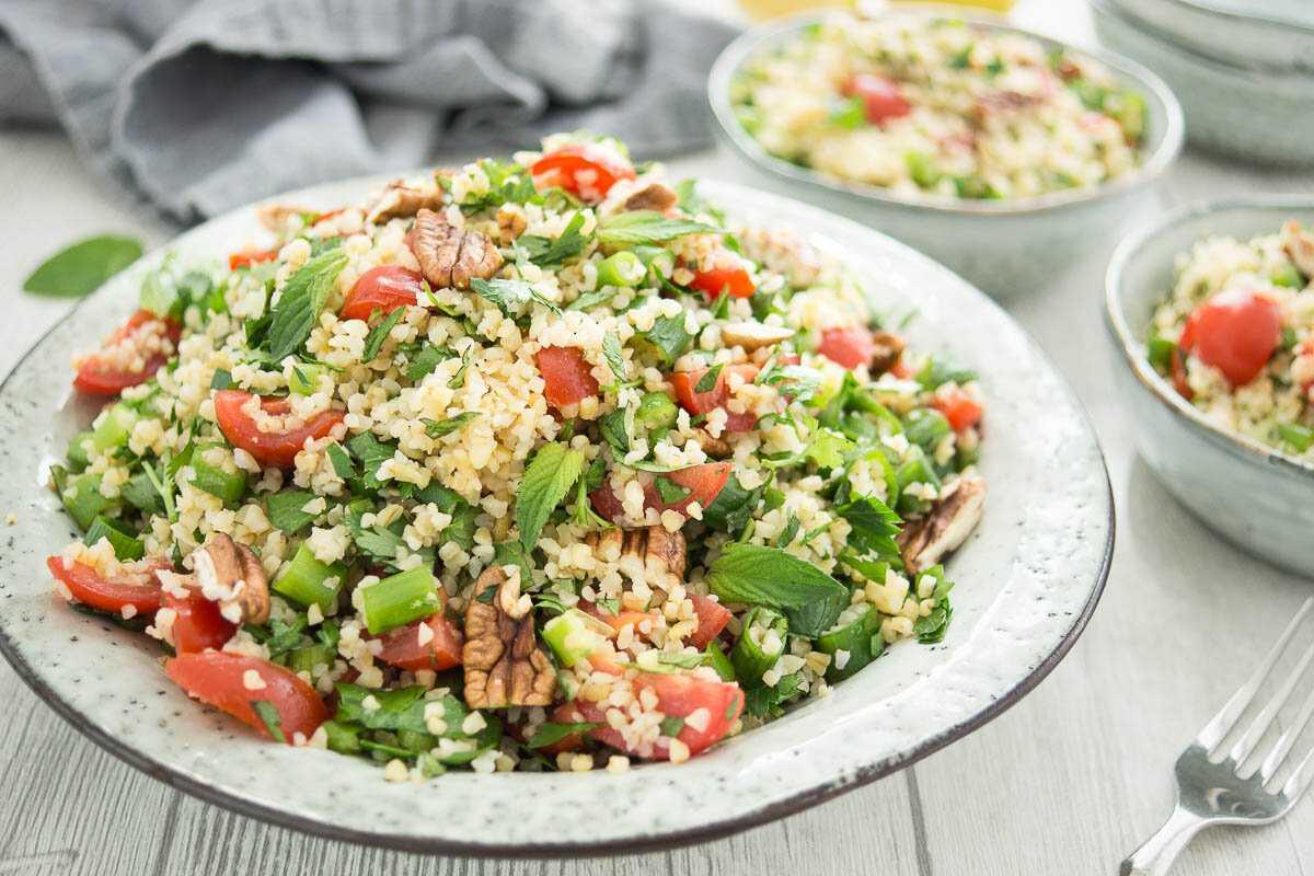 Рецепты салат с булгуром