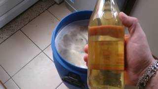 Домашнее бархатное вино из чёрной бузины