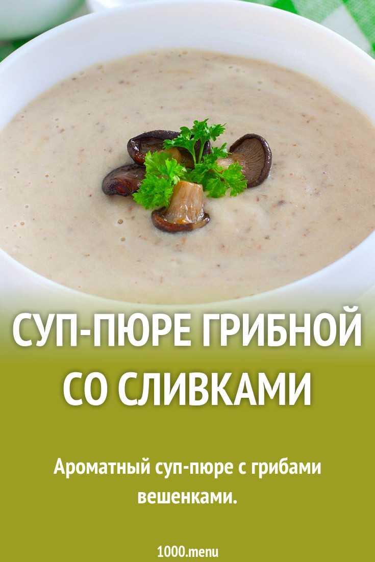 Грибной суп пюре с опятами. грибные радости: рецепты самых вкусных супов из замороженных, свежих и сушеных опят