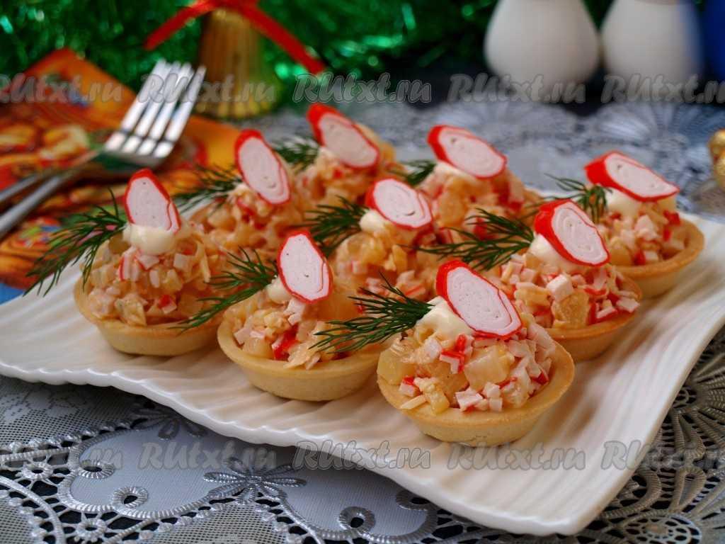 Тарталетки с начинкой на праздничный стол. 17 самых вкусных рецептов