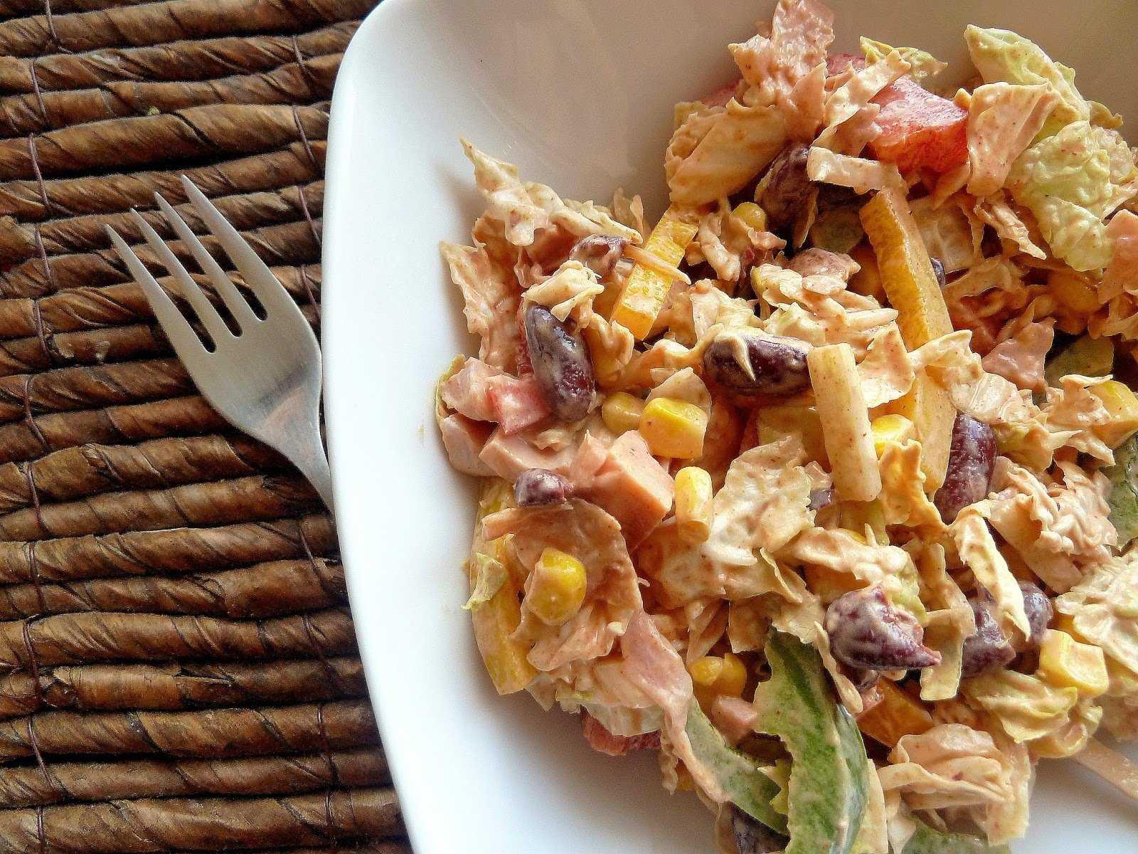 Салаты с копченой курицей — 17 очень вкусных рецептов