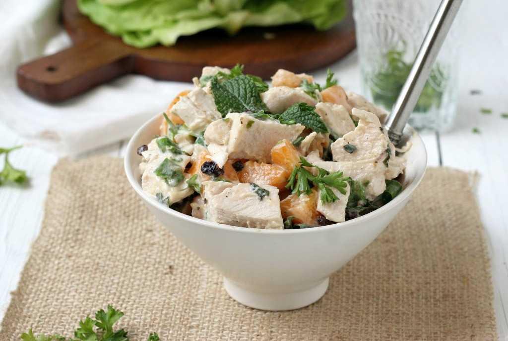 Салаты с курицей и грибами — просто и вкусно!