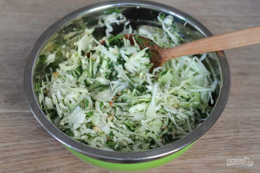"""Салат """"витаминный"""" - 5 пошаговых фото в рецепте"""