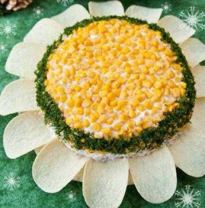 """Салат """"солнышко"""" с корейской морковью – пошаговый рецепт с фото на повар.ру"""