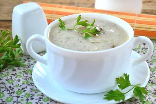 Как сварить грибной суп из сушеных и замороженных грибов