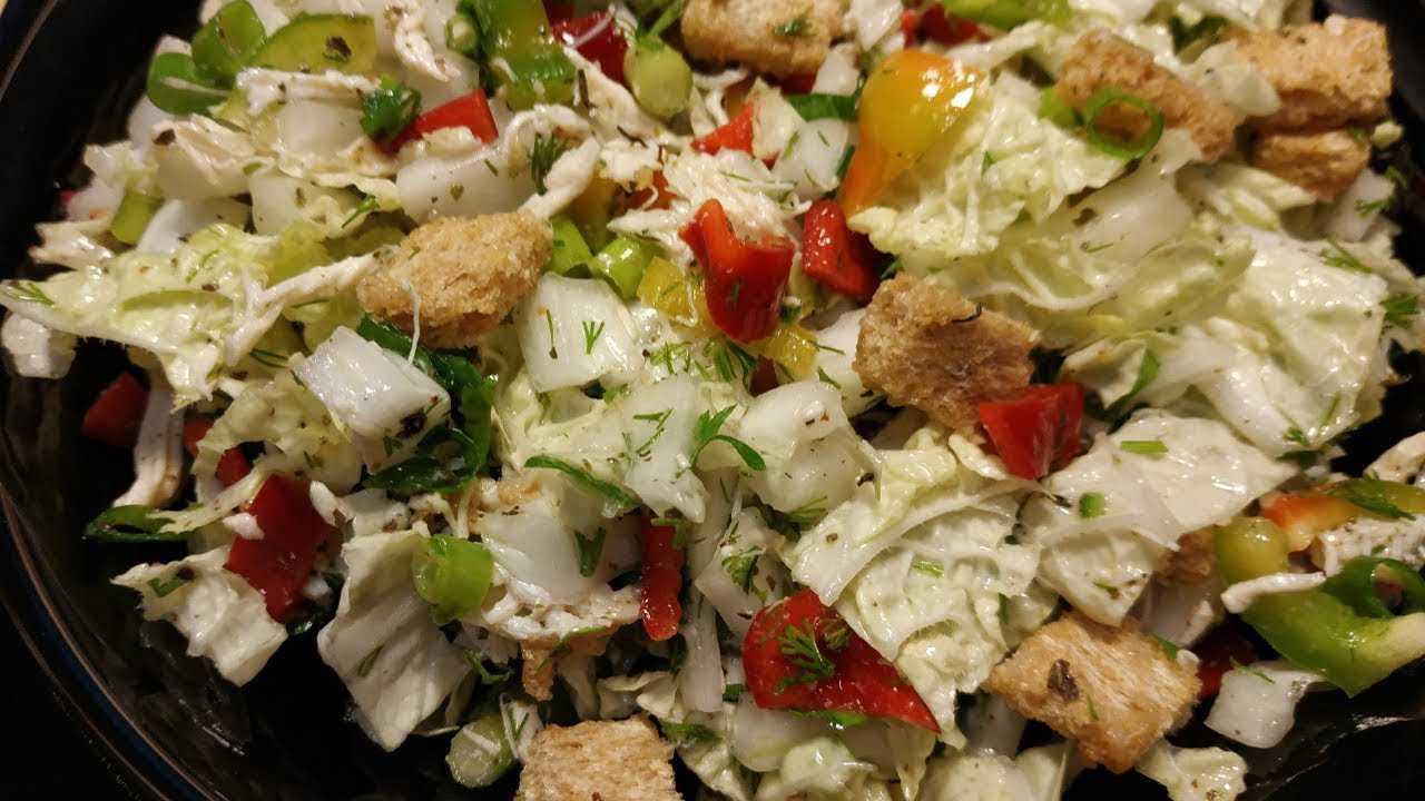 Салат с пекинской капустой и куриной грудкой — интересные идеи приготовления вкусного блюда