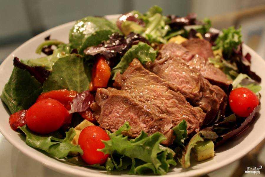 Салат сытный - полноценный обед: рецепт с фото и видео