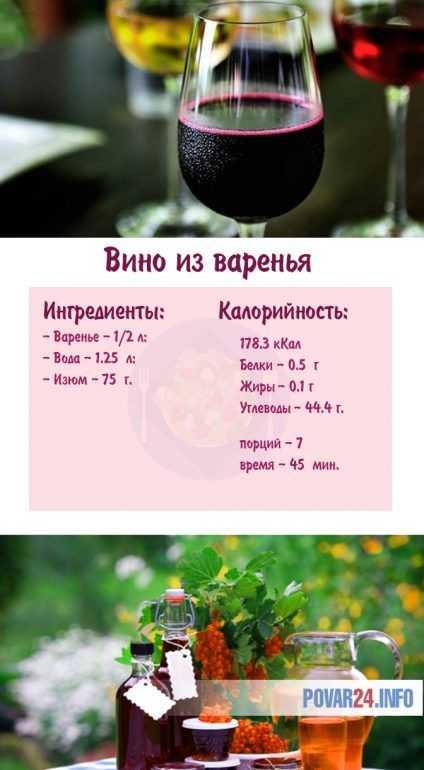 Как сделать вино из варенья вишни