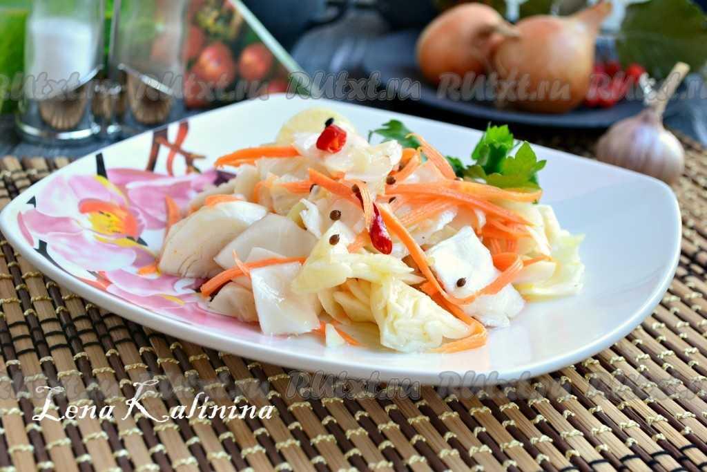 Рецепт приготовления красной капусты по корейски с фото