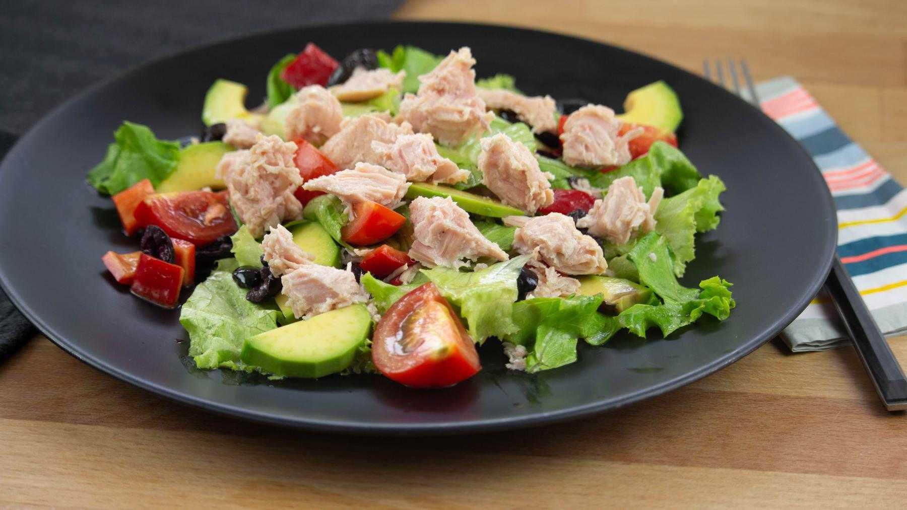 7топовых салатов стунцом