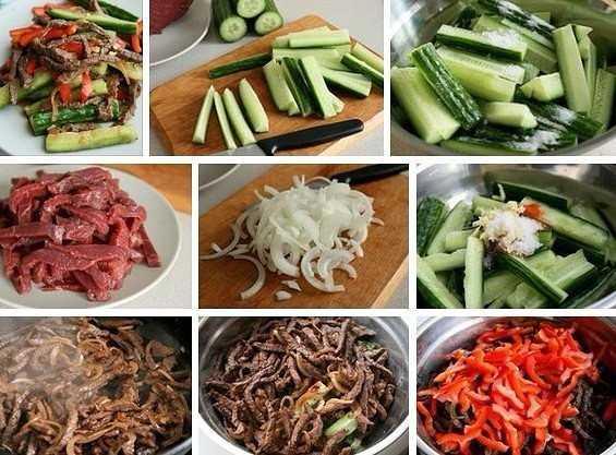 Как приготовить говядину с овощами по-корейски