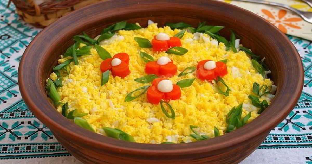 Как приготовить салат мимоза с горбушей
