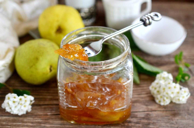 Варенье из груш на зиму простой рецепт с лимоном и апельсином, дольками и целиком, в мультиварке