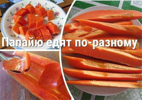 Папайя сушеная: состав, калорийность, польза, вред, рецепты