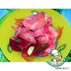 Капуста по-гурийски со свеклой на зиму рецепт с фото пошагово - 1000.menu