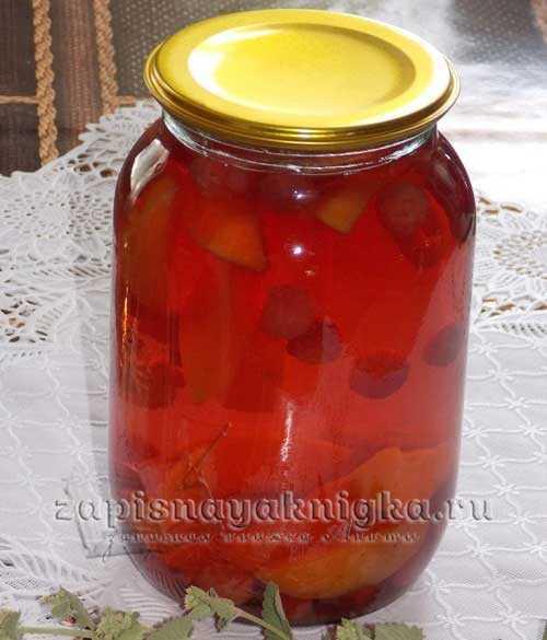 Компот из клубники: пошаговый рецепт приготовления
