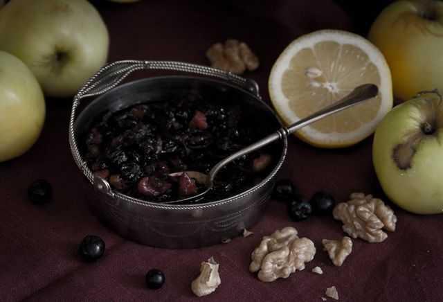 Варенье из черноплодной рябины простые рецепты на зиму