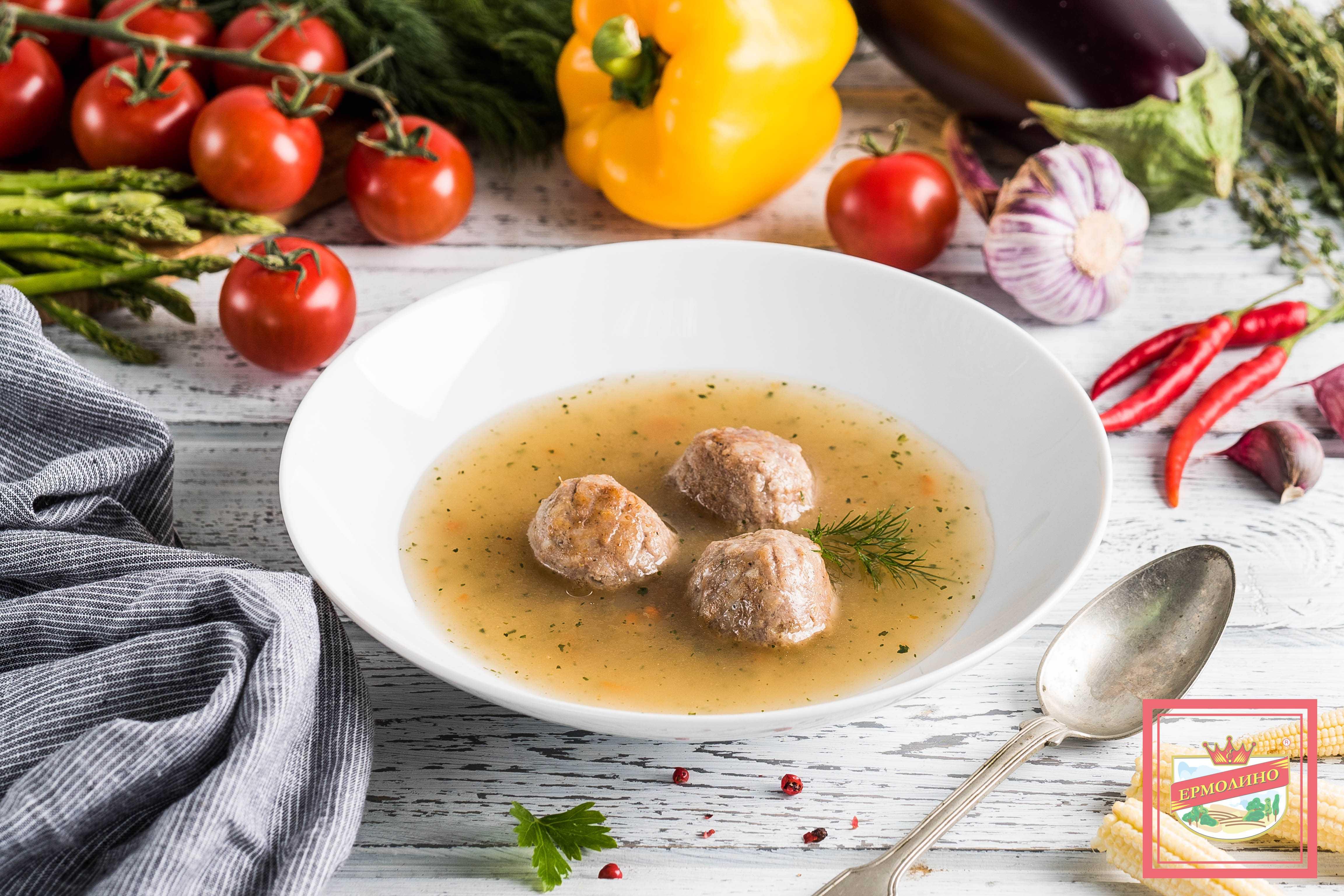Приготовление сложных супов