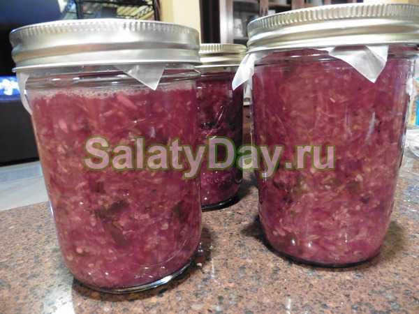 Краснокочанная капуста на зиму: рецепты приготовления