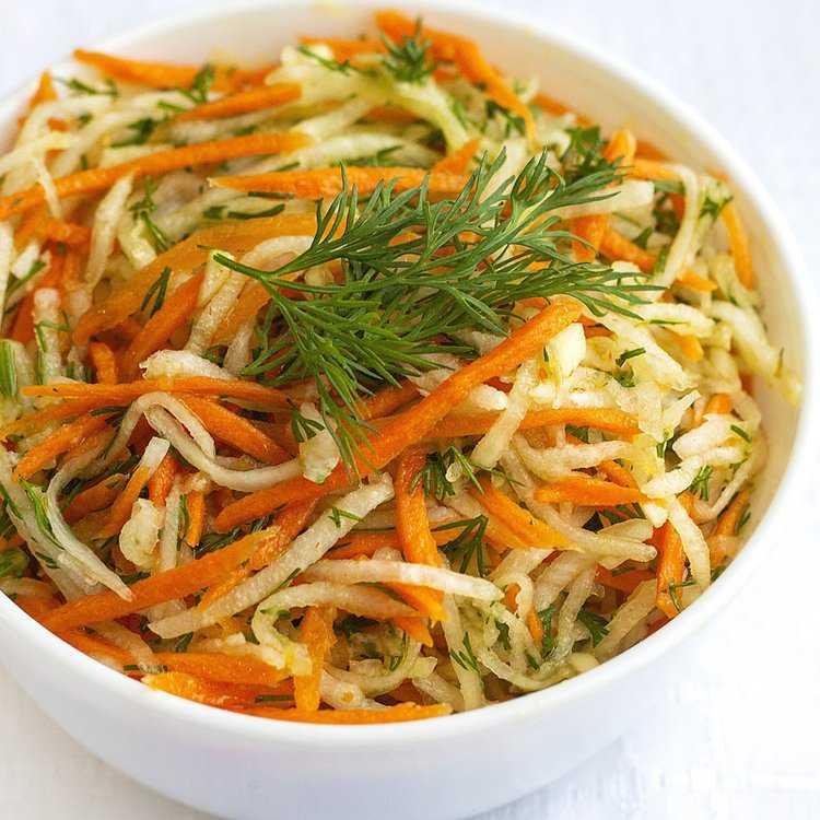 12 салатов с корейской морковью, которые первыми исчезают со стола - будет вкусно! - медиаплатформа миртесен