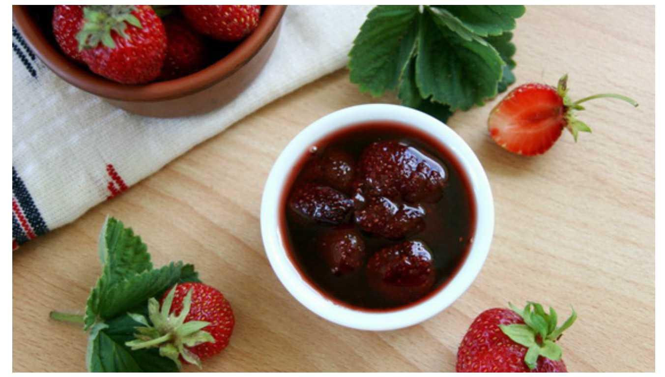 Варенье из клубники на зиму | густое варенье с целыми ягодками