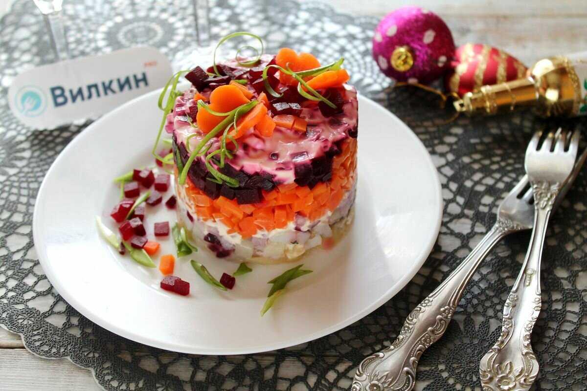 Вегетарианская селедка под шубой рецепт с фото пошагово - 1000.menu