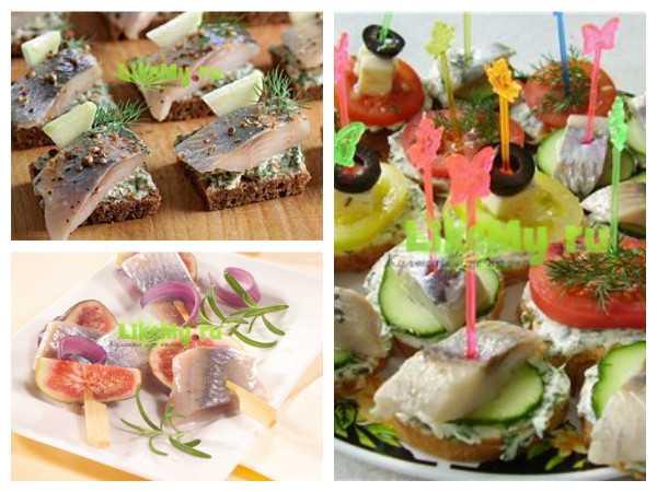 Рецепты канапе на Новый год с фото: с колбасой, морепродуктами, мясом, икрой, фруктами, рыбой, грибами, сыром. Оригинальные и бюджетные идеи.