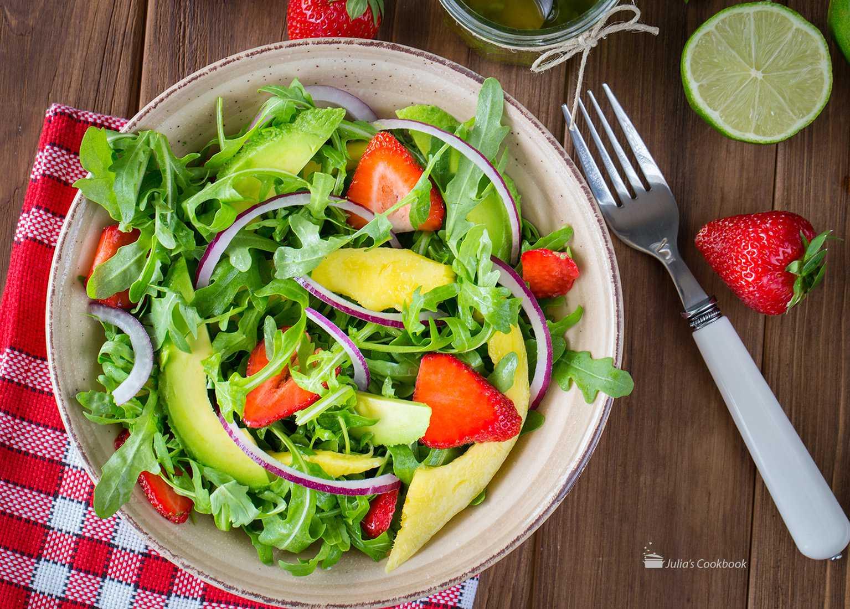 Салат лето - 296 рецептов: овощные салаты   foodini