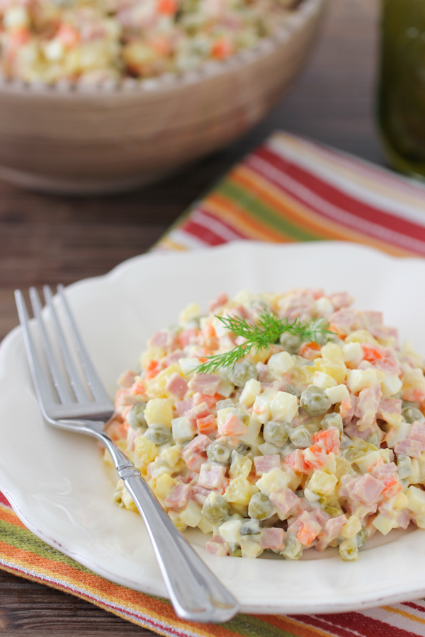 Зимний салат: рецепт классический — любимое блюдо на каждый день