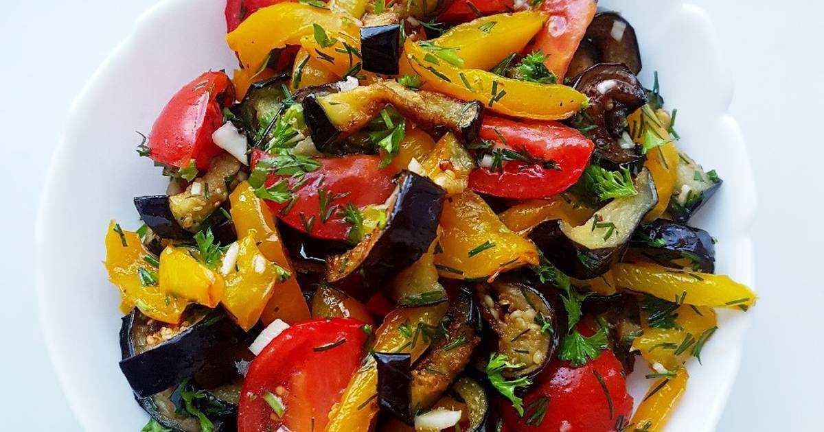 Салат «десяточка» из баклажанов на зиму — лучшие классические рецепты