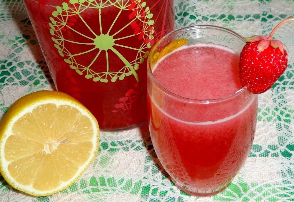 Компот из клубники, лимона и мяты на зиму рецепт с фото пошагово и видео - 1000.menu