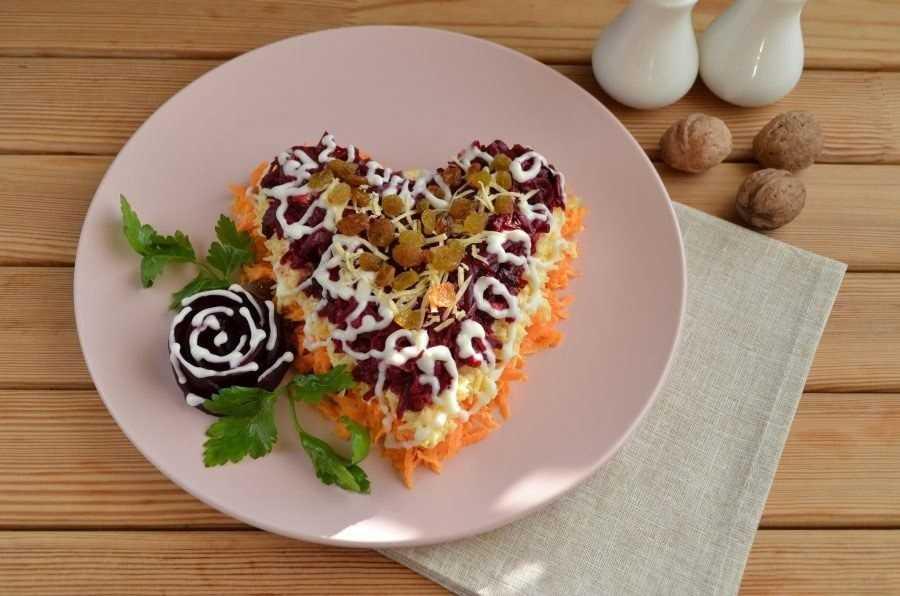 Салат любовница со свеклой и морковью