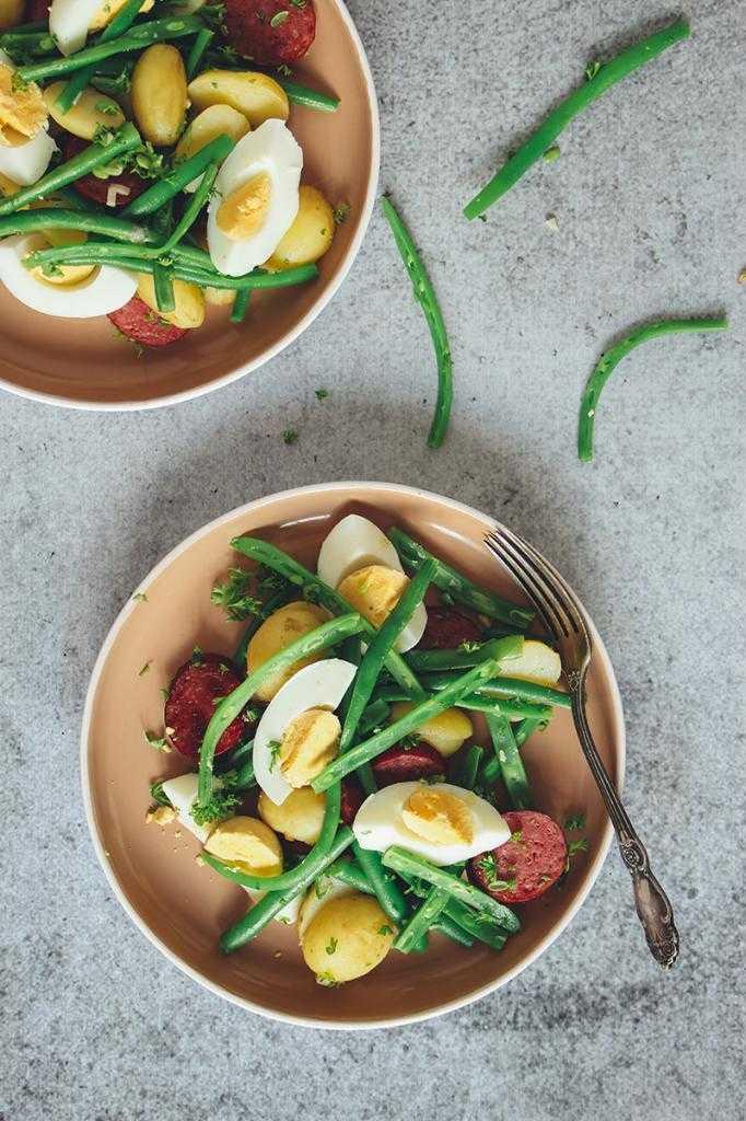 Готовим салат из зеленой фасоли с яйцом: поиск по ингредиентам, советы, отзывы, пошаговые фото, подсчет калорий, удобная печать, изменение порций, похожие рецепты