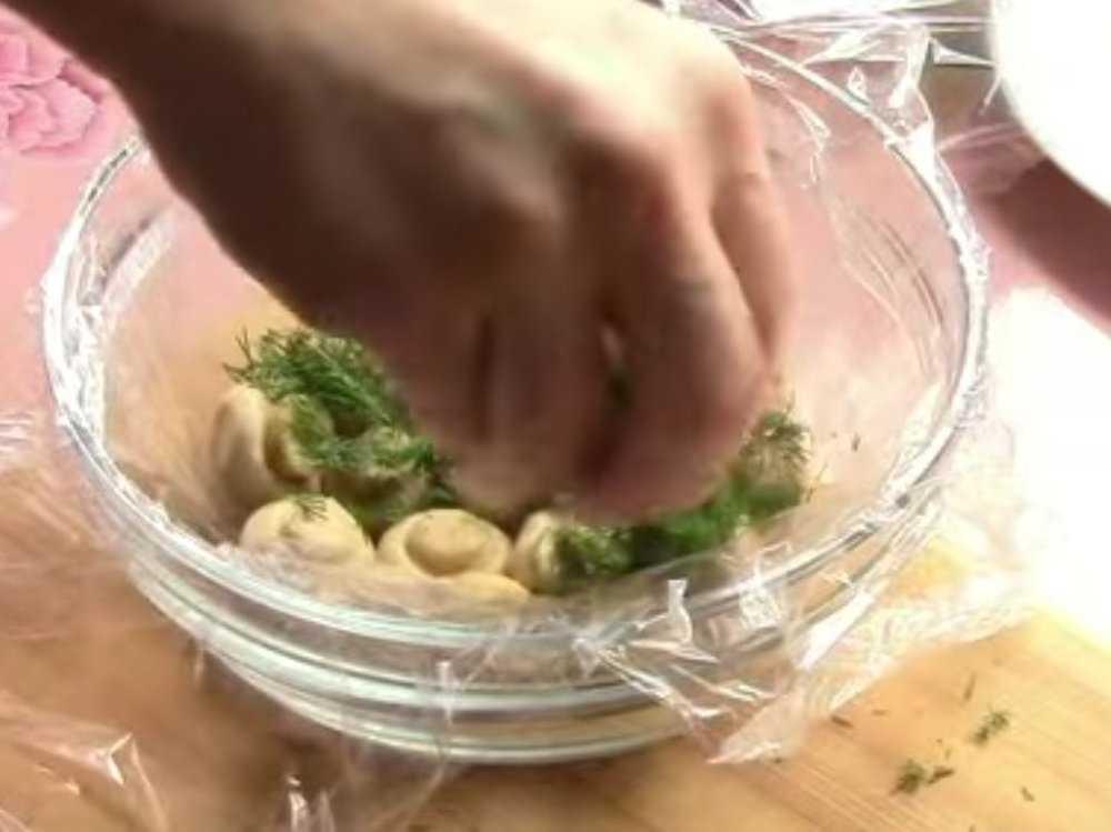 Салат грибная тайна