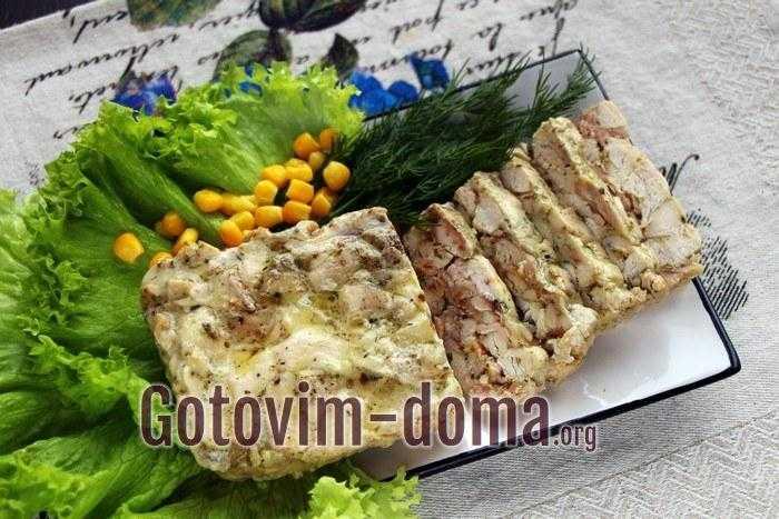 Домашняя колбаса из курицы   4 рецепта с фото и видео