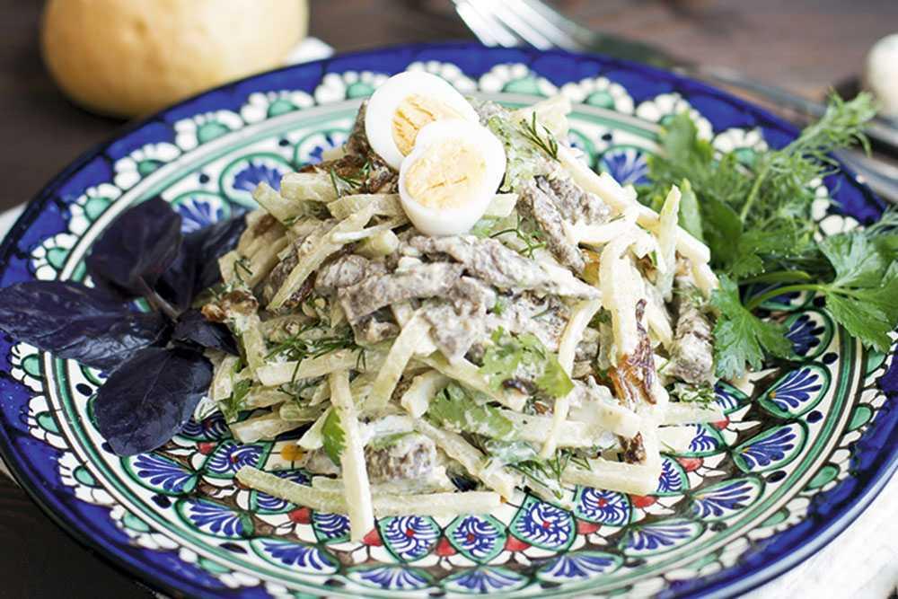 Как приготовить салат Узбекистан с редькой: поиск по ингредиентам, советы, отзывы, пошаговые фото, подсчет калорий, удобная печать, изменение порций, похожие рецепты
